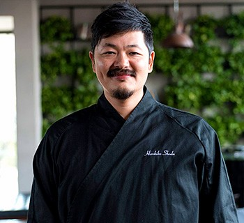 Chef Hirohiko Shoda